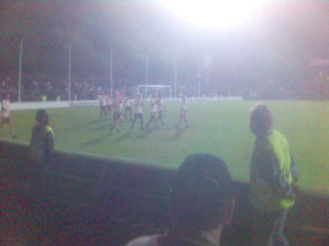St. Pauli vs. Preussen M?nster, taken with my mobile, so sorry about the low resolution