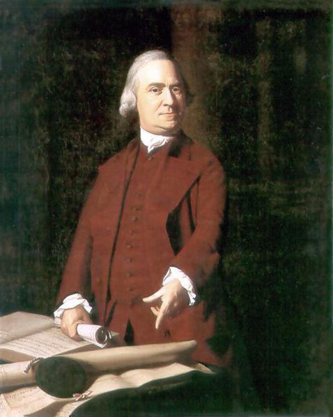 Samuel Adams, 1722 - 1803